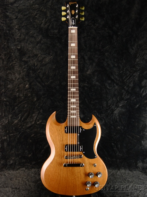 【2018 MODEL】Gibson SG Special 2018 Natural Satin 新品[ギブソン][スペシャル][ナチュラルサテン][SG,エスジータイプ][Electric Guitar,エレキギター]