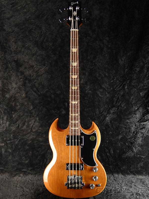 Gibson SG Standard Bass 2018 Walnut new article [Gibson] [standard] [walnut  ,Brown, brown, tea, grain of wood] [Electric Bass, electric guitar base]