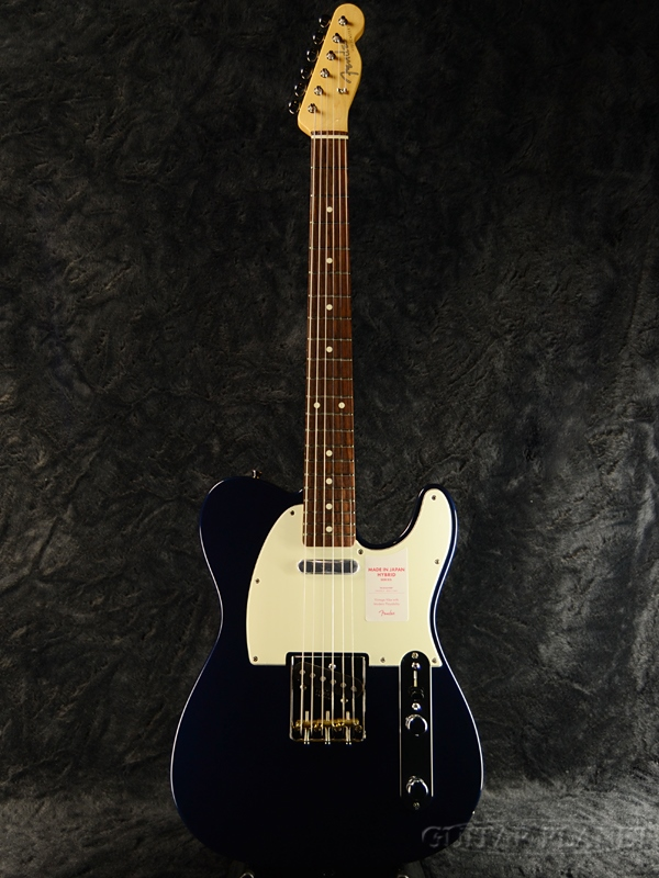 Fender Made In Japan Hybrid 60s Telecaster Midnight Blue 新品 《レビューを書いて特典プレゼント!!》[フェンダージャパン][ハイブリッド][ミッドナイトブルー,青][テレキャスター][Electric Guitar,エレキギター]