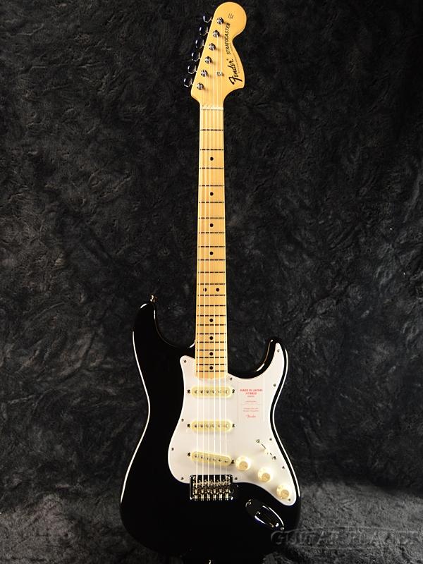 Fender Made In Japan Hybrid 68 Stratocaster Black 新品 《レビューを書いて特典プレゼント!!》[フェンダージャパン][ハイブリッド][ブラック,黒][ストラトキャスター][Electric Guitar,エレキギター]