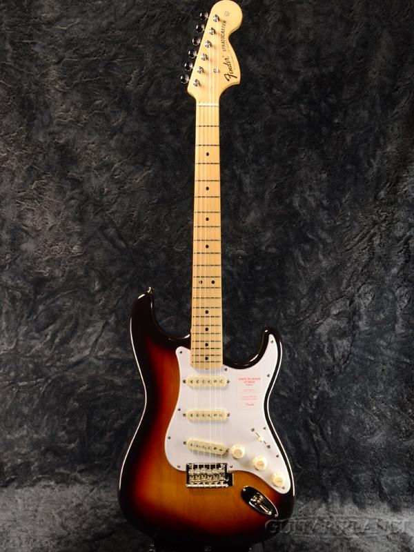 Fender Made In Japan Hybrid 68 Stratocaster 3-Color Sunbaurst 新品 《レビューを書いて特典プレゼント!!》[フェンダージャパン][ハイブリッド][3カラーサンバースト][ストラトキャスター][Electric Guitar,エレキギター]