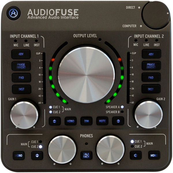 ARTURIA AUDIO FUSE ARTURIA Space Gray 新品 FUSE オーディオインターフェイス[アートリア][スペースグレー][Audio AUDIO Interface], 品多く:b6911470 --- acessoverde.com