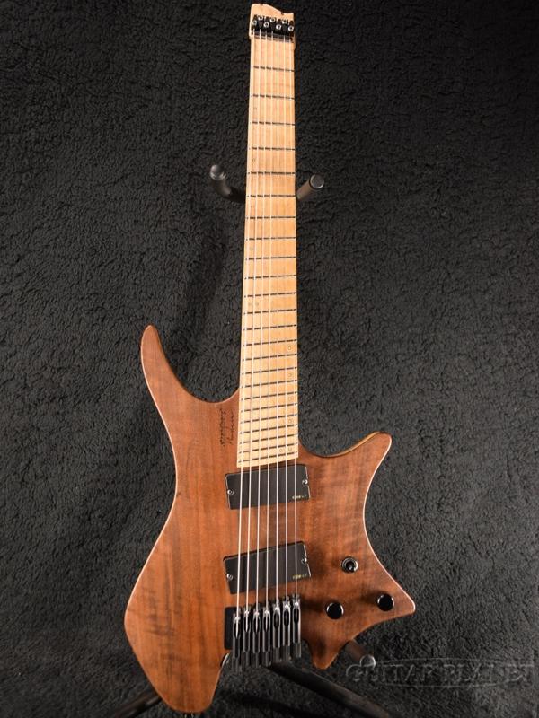 【中古】Strandberg USA Boden 7 EMG -Natural / Maple- 2013年製[ストランドバーグ][ボーデン][7strings,7弦][Headless,ヘッドレス][ナチュラル][Electric Guitar,エレキギター]【used_エレキギター】