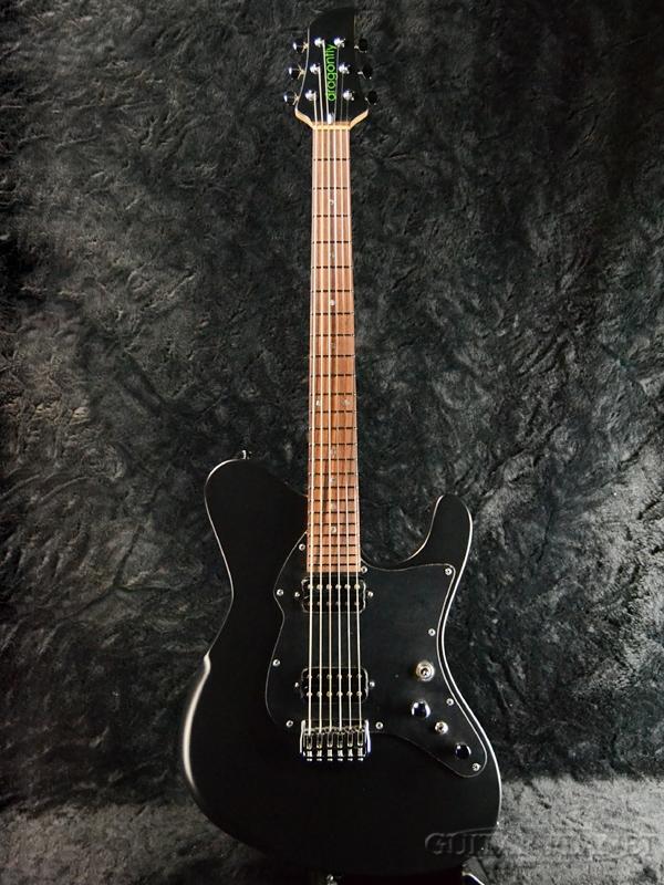 dragonfly BORDER 666 -Matte Black- 新品[ドラゴンフライ][マットブラック,黒][Electric Guitar,エレキギター]