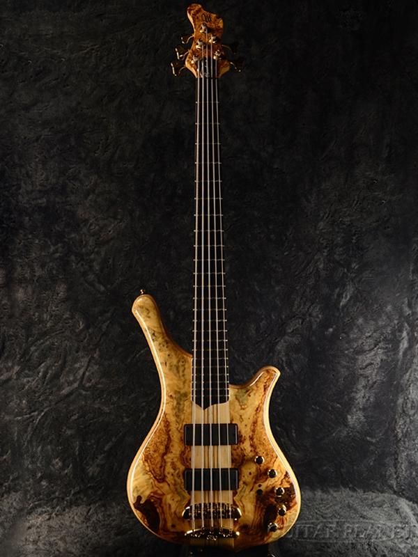 Mayones Comodous 5 -Buckeye top- 新品[メイワンズ][Natural,ナチュラル][5strings,5弦][Electric Bass,エレキベース]