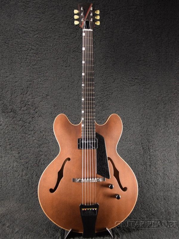 Nuages DC16S/ST Brown 新品[ニュアージュ][ブラウン,茶][フルアコ][Electric Guitar,エレキギター]