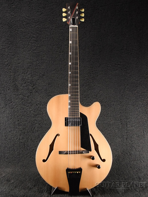 Nuages SC15S/PT Natural 新品[ニュアージュ][Natural,ナチュラル,木目][フルアコ][Electric Guitar,エレキギター]