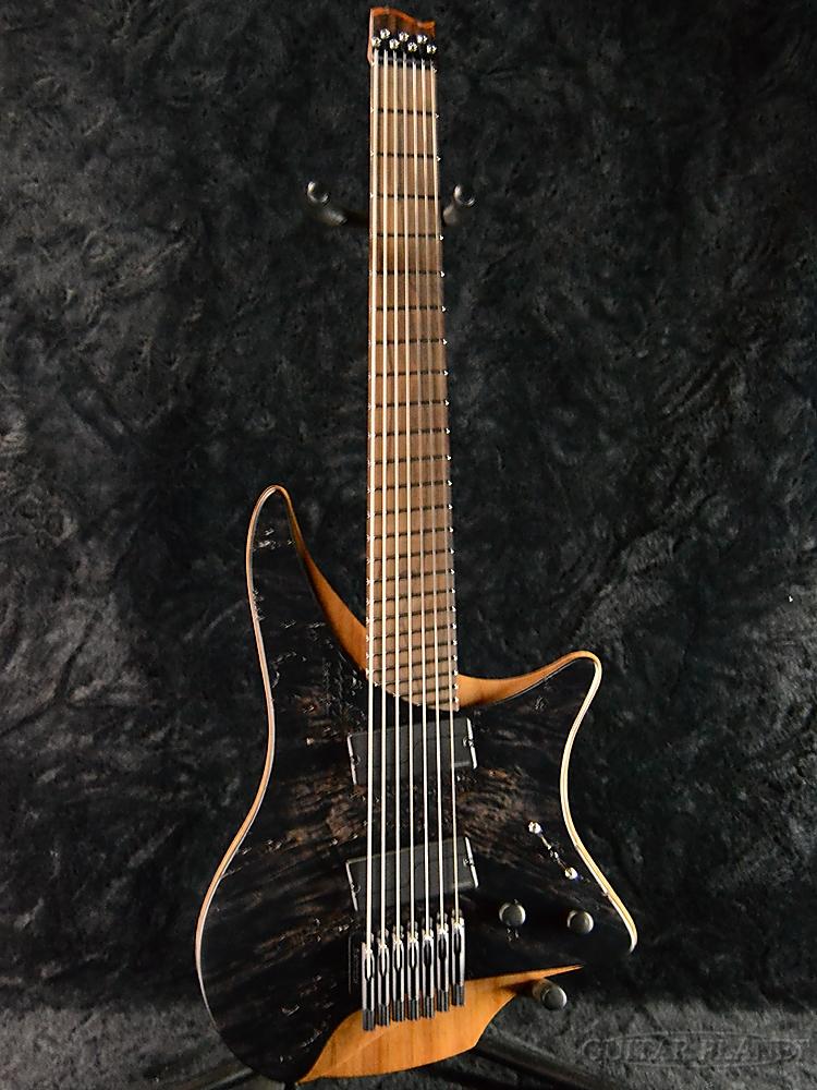 【中古】strandberg Sweden Custom Shop Verberg 7st (Burl Top / Ziricote / Roasted Maple / Fishman Floence) 2017年製[ストランドバーグ][ヴァールベリ][ヘッドレス][7strings,7弦][Electric Guitar,エレキギター]【used_エレキギター】