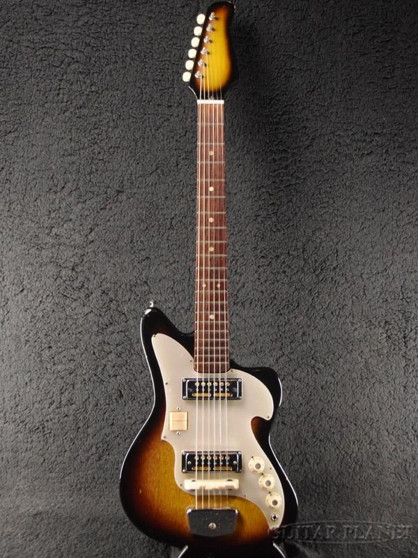 【中古】Audition by Teisco 1960's ZES-70 -Sunburst- 1960年代製[オーディション][テスコ][サンバースト][Bizarre,ビザールギター][ZES70][Electric Guitar,エレキギター]【used_エレキギター】