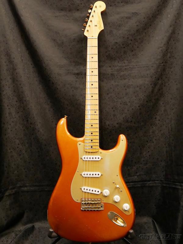 【中古 Candy- -Melon】Fender Custom Shop ~2013 Custom Custom Collection~ 1956 Stratocaster Relic -Melon Candy- 2013年製[フェンダーカスタムショップ,CS][メロンキャンディ,オレンジ][ストラトキャスター][Electric Guitar]【used_エレキギター】, 印鑑屋:4353bd32 --- sophetnico.fr