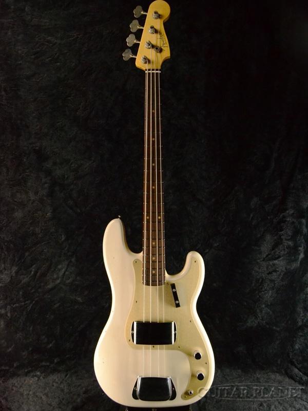Fender Custom Shop 1959 Precision Bass Journeyman Relic -Aged White Blonde- 新品 [フェンダーカスタムショップ,cs][プレシジョンベース,PBB][エイジドホワイトブロンド,白][Electric Bass,エレキベース]