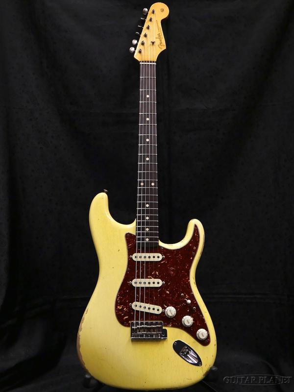【中古】Fender Custom Shop MBS 1959 Stratocaster Relic -Aged Vintage Blonde- by Dale Wilson 2015年製[フェンダーカスタムショップ][Stratocaster,ストラトキャスタータイプ][ビンテージブロンド,白][Electric Guitar,エレキギター]【used_エレキギター】