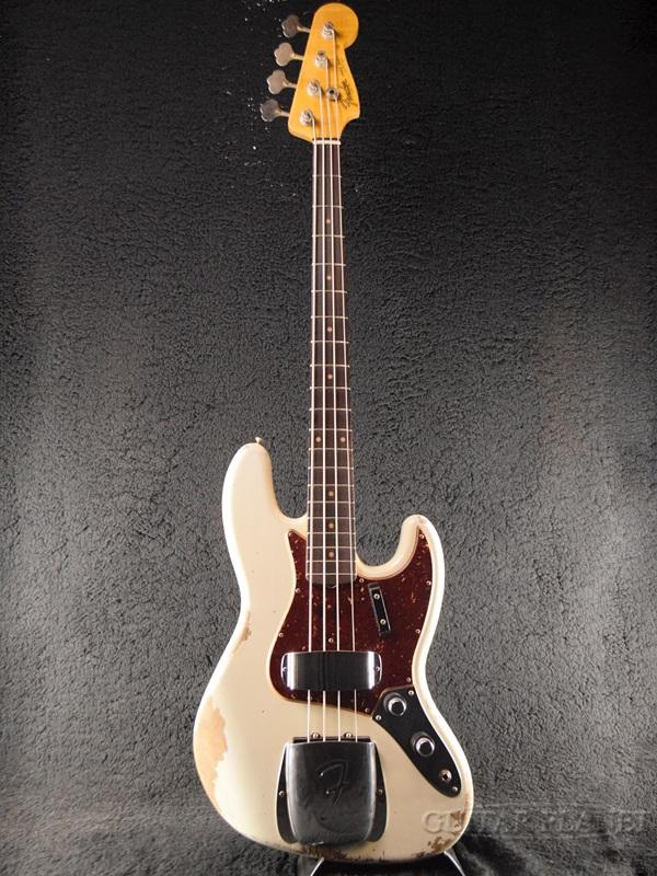 Fender Custom Shop ~2018 Custom Shop Exhibition Display #45~ 1960 Jazz Bass Heavy Relic -Aged Olympic White- 新品[フェンダーカスタムショップ,CS][オリンピックホワイト,白][JB,ジャズベース,ジャズベ][Electric Bass,エレキベース]