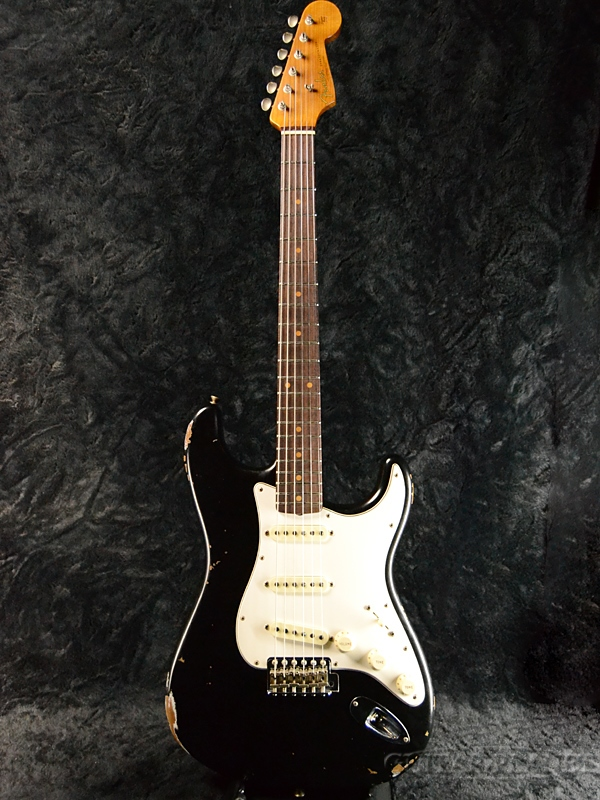 Fender Custom Shop ''Guitar Planet Exclusive'' 1960 Roasted Stratocaster Relic -Aged Black- 新品[フェンダーカスタムショップ,CS][エイジドブラック,黒][ストラトキャスター][Electric Guitar,エレキギター]