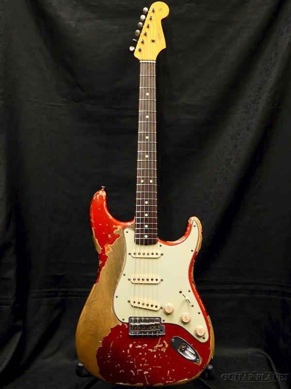 【中古】Fender Custom Shop MBS 1964 Stratocaster Ultimate Relic -Candy Apple Red- by Jason Smith 2011年製[フェンダーカスタムショップ][Stratocaster,ストラトキャスタータイプ][キャンディアップルレッド,赤]【used_エレキギター】