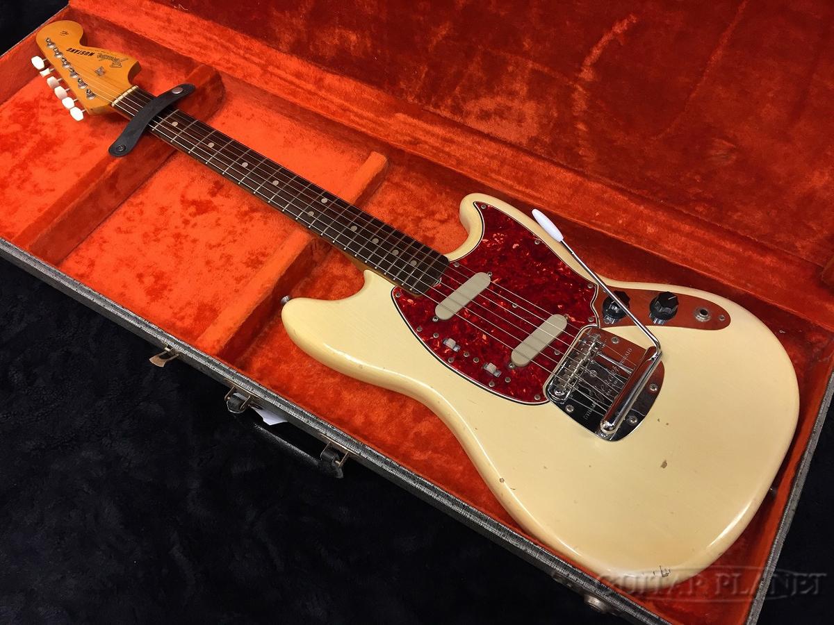 【中古】Fender USA 1965 Mustang -White- 1965年製[フェンダーUSA][ムスタング][ホワイト,白][エレキギター,Electric Guitar]【used_エレキギター】_vtg