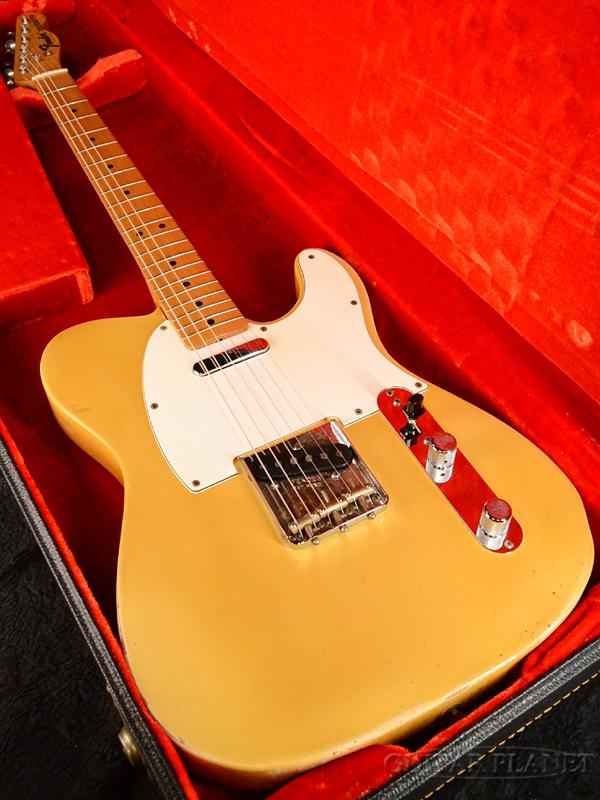 【中古】Fender USA Telecaster -Blonde / Maple- 1968-1969年製[フェンダーUSA][Telecaster,TL,テレキャスタータイプ][ブロンド][Electric Guitar,エレキギター]【used_エレキギター】