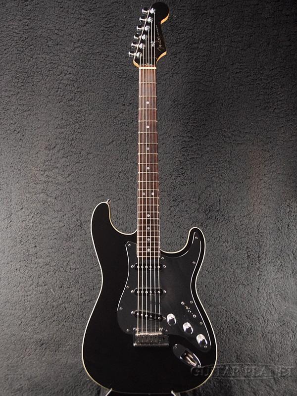 【中古】Fender USA American Designer Edition Black & Chrome Stratocaster -Black / Rosewood- 2001年製[フェンダー][クロームピックガード][ブラック,黒][ストラトキャスター][Electric Guitar,エレキギター]【used_エレキギター】