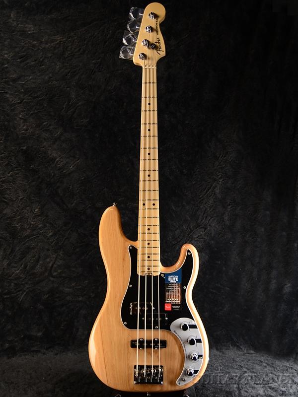 Fender USA American Elite Precision Bass -Natural- 新品[フェンダー][アメリカンエリート][ナチュラル][プレシジョンベース,プレベ,PB][Electric Bass,エレキベース]