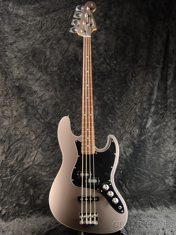 《HATAノブ搭載!!》Exclusive Aerodyne Jazz Bass DFG (AJB) × HATA ハットノブ -TITANIUM- 新品[フェンダー,ハタ][ジャパン][エアロダイン][ジャズベース][チタニウム,シルバー,銀][エレキベース,Electric Bass]