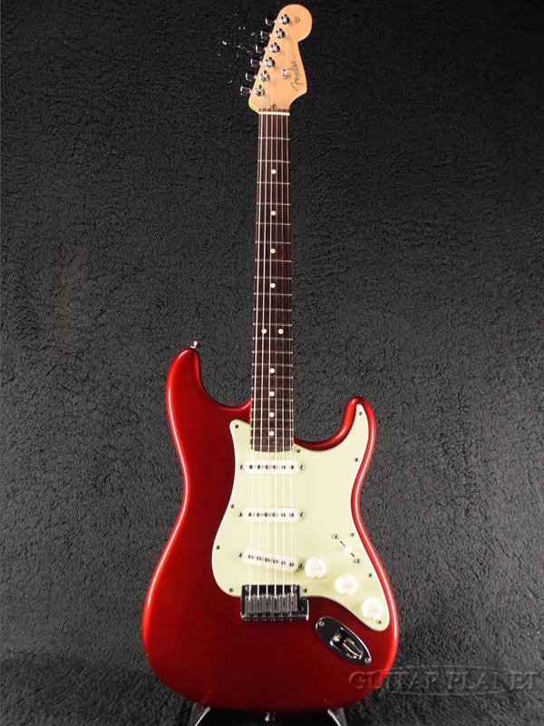 【中古】Fender USA American Stratocaster -Candy Apple Red / Rosewood- 2004年製[フェンダー][アメリカンストラトキャスター][キャンディアップルレッド,赤][Electric Guitar,エレキギター]【used_エレキギター】