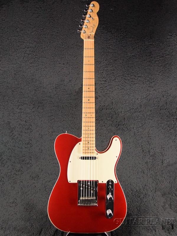 【中古】Fender USA American Deluxe Telecaster -Chrome Red / Maple- 2002年製 [フェンダー][アメリカンデラックス][クロームレッド,赤][TL,テレキャスター][Electric Guitar,エレキギター]【used_エレキギター】