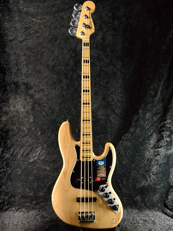 Fender USA American Elite Jazz Bass Ash -Natural/Maple- 新品[フェンダー][アメリカンエリート][アッシュ][ナチュラル][ジャズベース,JB][Electric Bass,エレキベース]