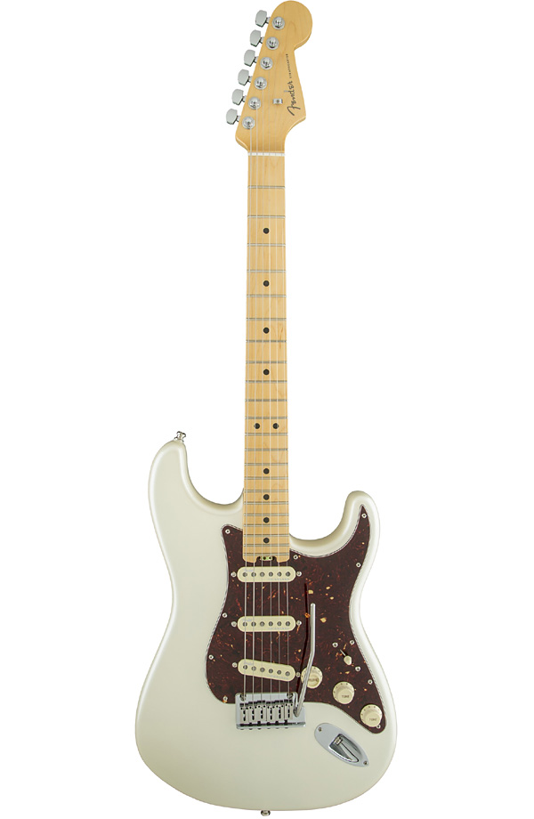 Fender USA American Elite Stratocaster Olympic Pearl / Maple- 新品[フェンダー][アメリカンエリート][ストラトキャスター][オリンピックパール][Electric Guitar,エレキギター]