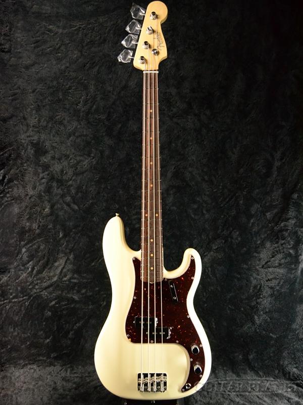 Fender USA American Original '60s Precision Bass Olympic White 新品[フェンダー][アメリカンオリジナル][オリンピックホワイト,白][プレシジョンベース,プレベ,PB][Electric Bass,エレキベース]