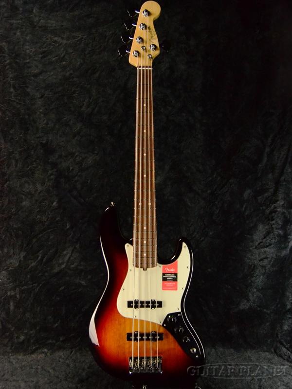 Fender USA American Professional Jazz Bass V Sunburst 新品[フェンダー][アメリカンプロフェッショナル][5strings,5弦][ジャズベース][サンバースト,木目][Electric Bass,エレキベース]
