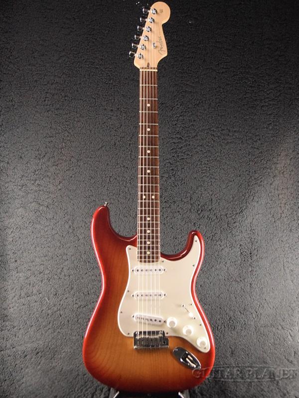 【中古】Fender USA American Standard Stratocaster Ash -Sienna Sunburst / Rosewood -2005年製[フェンダー][アメリカンスタンダード,アメスタ][シエナサンバースト][ストラトキャスター][Electric Guitar,エレキギター]【used_エレキギター】