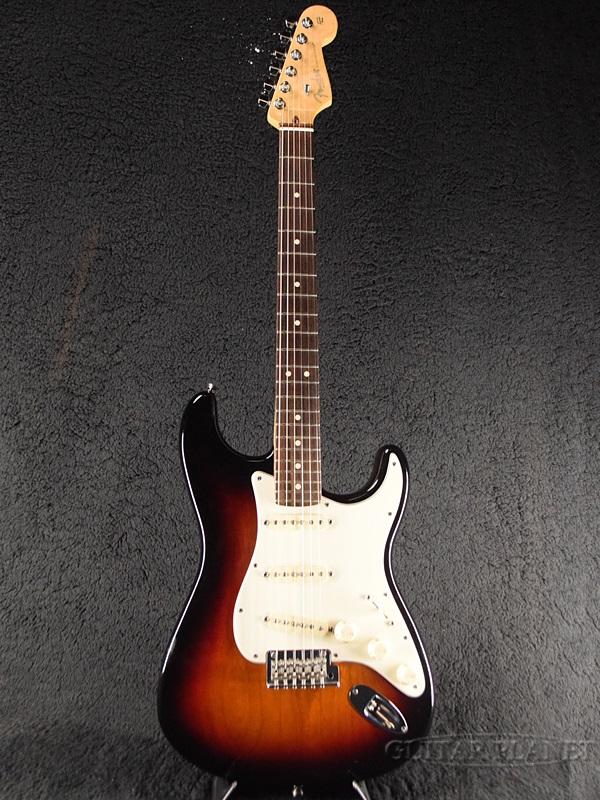 【中古】Fender USA American Standard Stratocaster UG -3-Color Sunburst / Rosewood- 2014年製[フェンダー][アメリカンスタンダード,アメスタ][3カラーサンバースト][ストラトキャスター][Electric Guitar,エレキギター]【used_エレキギター】