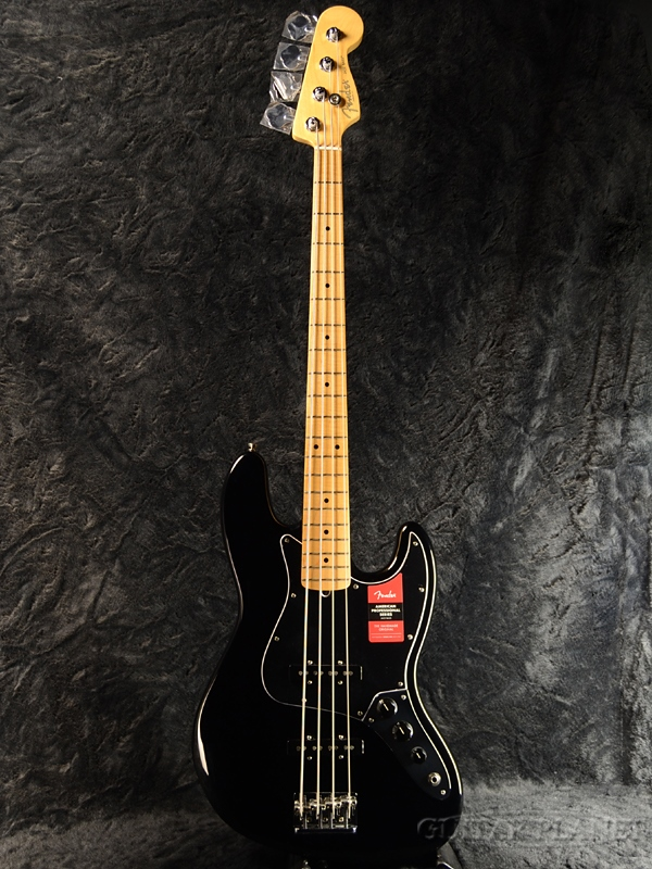 Fender USA American Professional Jazz Bass Jazz Bass -Black/Maple-