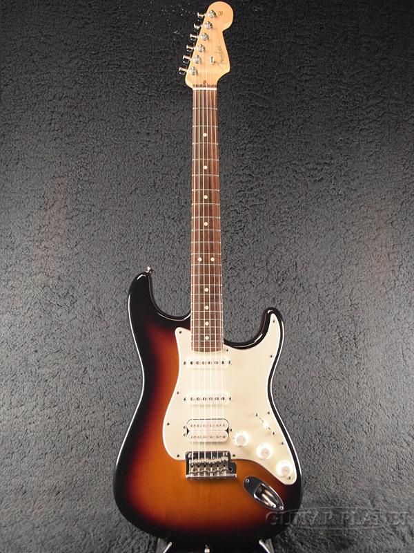 【中古】Fender USA American Standard Stratocaster HSS -3-Color Sunburst / Rosewood- 2010年製[フェンダー][アメリカンスタンダード,アメスタ][3カラーサンバースト,3CS][ストラトキャスター][Electric Guitar]【used_エレキギター】