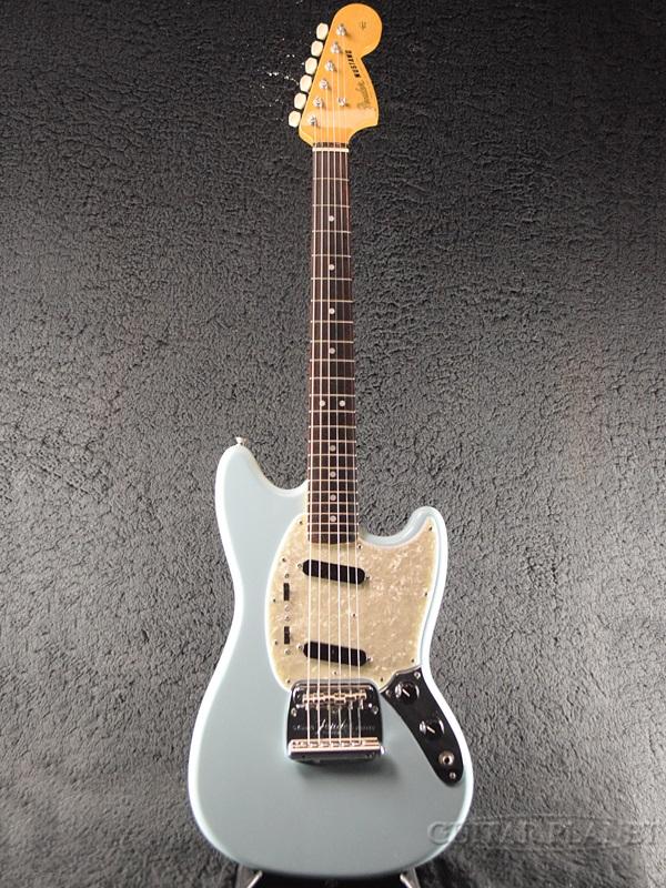 【美品中古!】Fender Japan Exclusive Classic 60s Mustang (MG65) -Daphne Blue- 2016年製[フェンダージャパン][エクスクルーシブ,クラシック][ダフネブルー,青][ムスタングタイプ][Electric Guitar,エレキギター]【used_エレキギター】