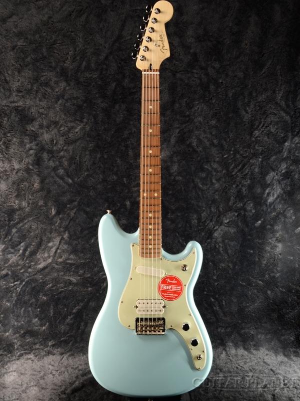 Fender DUO-SONIC HS Daphne Blue 新品[フェンダー][Offset,オフセットシリーズ][デュオソニック][ダフネブルー,青][Mustang,ムスタングタイプ][Electric Guitar,エレキギター][DUOSONIC]