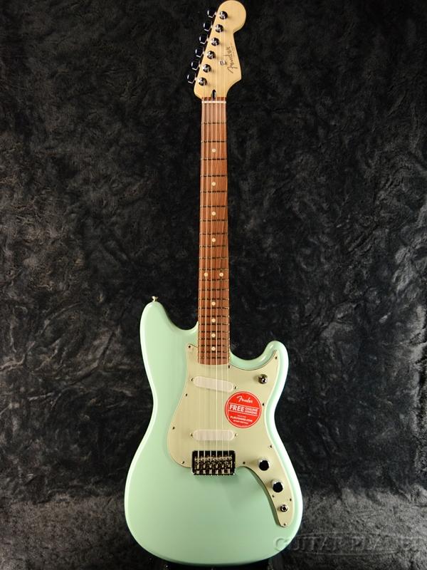 安い購入 Fender Mexico DUO-SONIC -Surf Green- 新品[フェンダーメキシコ][デュオソニック][サーフグリーン,緑][Mustang,ムスタング][エレキギター,Electric Guitar], 小郡町 2dcfa919