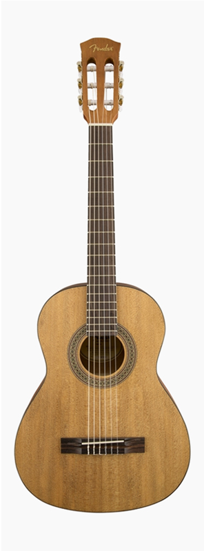 Fender FA-15N 3/4 Nylon 新品[フェンダー][Natural,ナチュラル][Classic Guitar,クラシックギター]