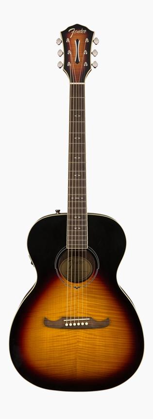 Fender FA-235E Concert 3-Tone Sunburst 新品[フェンダー][3トーンサンバースト][Electric Acoustic Guitar,アコースティックギター,アコギ,エレアコ]