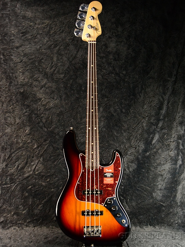 Fender USA American Professional Jazz Bass -3Color Sunburst/Rosewood-
