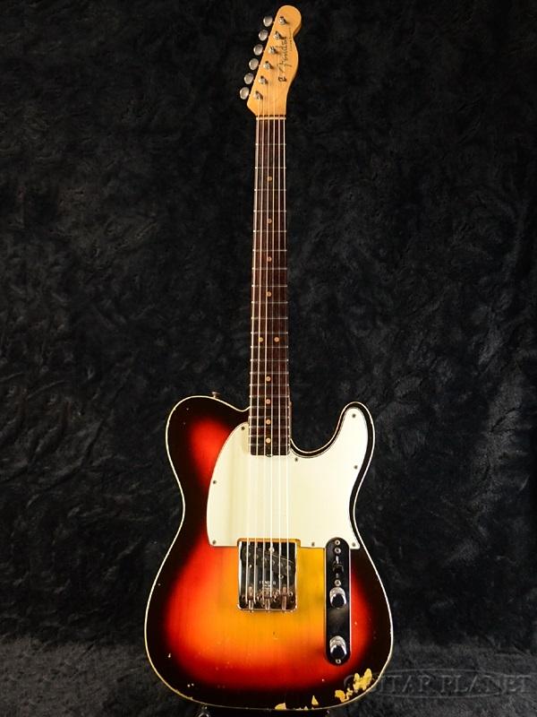 【中古】Fender USA Fender Custom Esquire -3 Color Sunburst- 1963-1964年製[フェンダーUSA][Telecaster,TL,テレキャスタータイプ][サンバースト,木目][Electric Guitar,エレキギター]【used_エレキギター】
