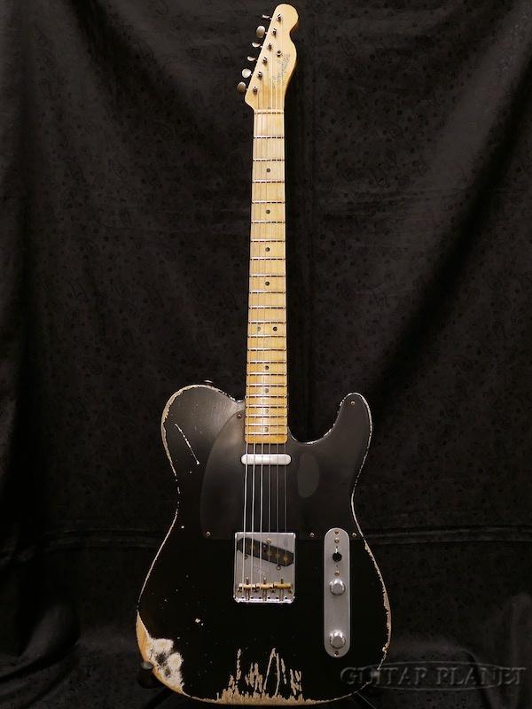 【中古】Fender Custom Shop MBS 1951 ''Nocaster'' Heavy Relic -Aged Black- by Dennis Galuszka 2008年製[フェンダー][カスタムショップ][ブラック,黒][ノーキャスター,テレキャスター][Electric Guitar]【used_エレキギター】