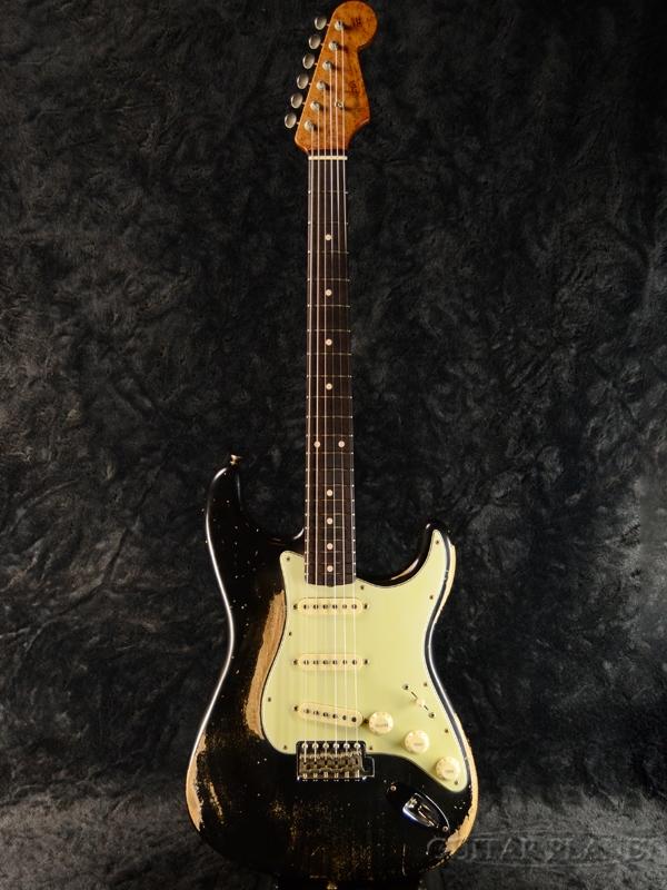 Fender Custom Shop MBS 1961 Stratocaster Relic ''5A Roasted Birdseye Maple'' -Aged Black- by Greg Fessler 新品[フェンダーカスタムショップ,CS][グレッグ・フェスラー][エイジドブラック,黒][ストラトキャスター][Electric Guitar,エレキギター]