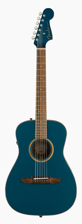 Fender Malibu Classic Cosmic Turquoise 新品[フェンダー][ターコイズ,青][Electric Acoustic Guitar,アコースティックギター,アコギ,エレアコ]