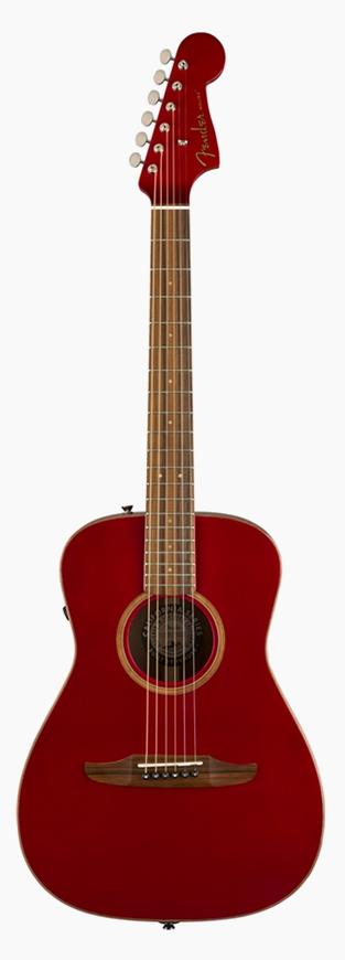 Fender Malibu Classic Hot Rod Red Metallic 新品[フェンダー][レッドメタリック,赤][Electric Acoustic Guitar,アコースティックギター,アコギ,エレアコ]