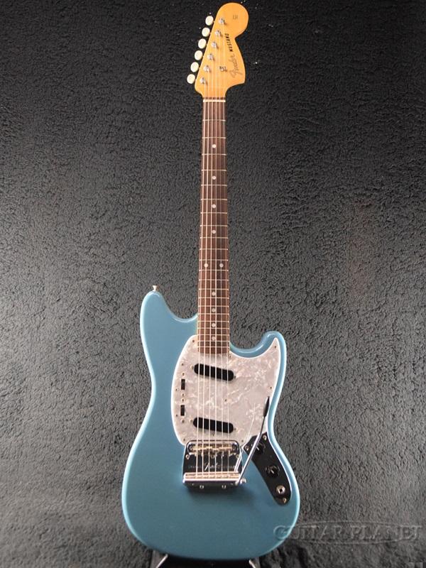 【中古】Fender Japan MG66-66 -California Blue- 1997-2000年製[フェンダージャパン][カリフォルニアブルー,青][Mustang,ムスタング][Electric Guitar,エレキギター]【used_エレキギター】