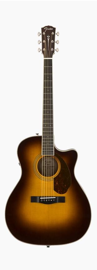 Fender PM-4CE Auditorium Limited Vintage Sunburst 新品[フェンダー][ヴィンテージサンバースト][Electric Acoustic Guitar,アコースティックギター,アコギ,エレアコ]