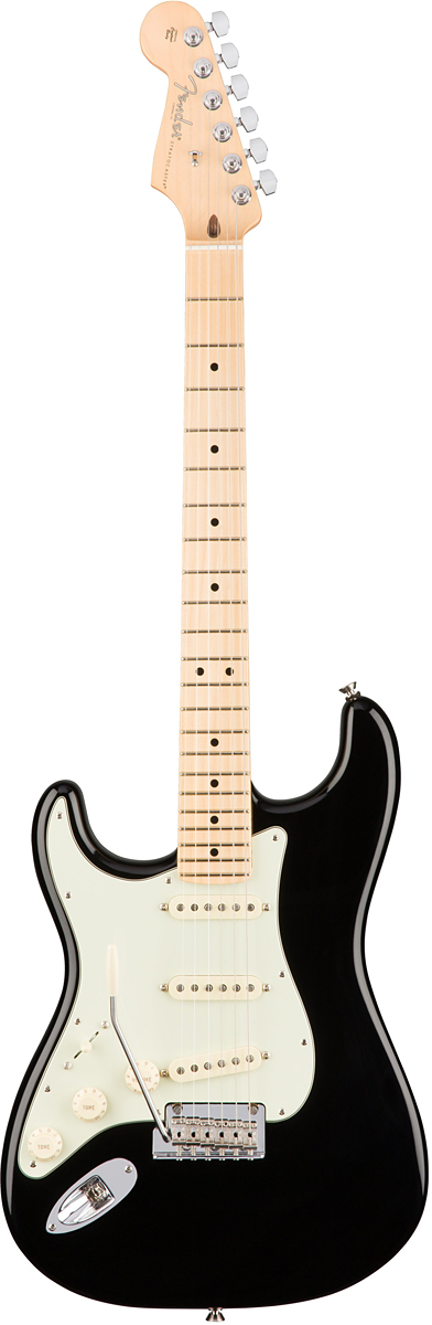Fender USA American Professional Stratocaster Lefty - Black / Maple- 新品 《レビューを書いて特典プレゼント!!》[フェンダー][アメリカンプロフェッショナル,アメプロ][左用][ブラック,黒][ストラトキャスター][Electric Guitar,エレキギター]