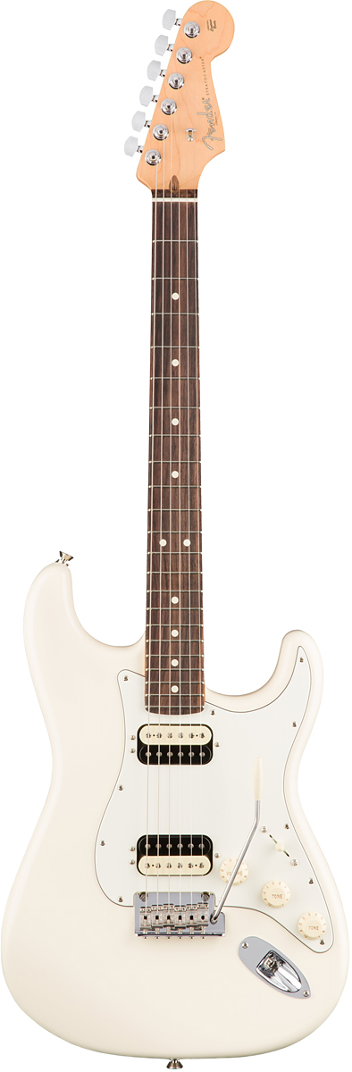 Fender USA American Professional Stratocaster HH Shawbucker - Olympic White / Rose- 新品 《レビューを書いて特典プレゼント!!》[フェンダー][アメリカンプロフェッショナル,アメプロ][ホワイト,白][ストラトキャスター][Electric Guitar,エレキギター]