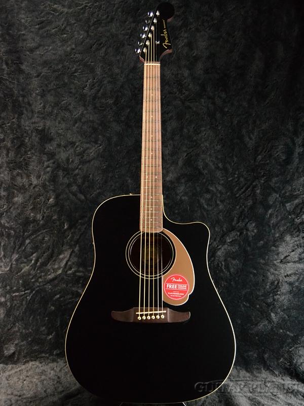 Fender Redondo Player Jetty Black 新品[フェンダー][ブラック,黒][Electric Acoustic Guitar,アコースティックギター,アコギ,エレアコ]